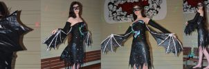 Wearable Art 'Beauty of the Night' by SDRseries