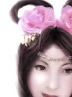 Diao Chan by plasticred