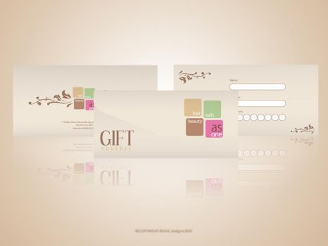 As One Gift Voucher by Reink