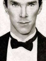 Benedict Cumberbatch by patricemarie
