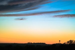 Sunset on the Prairie by captpackrat