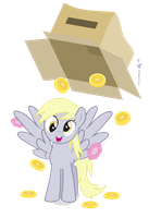 Derpy Pays Out! by dm29
