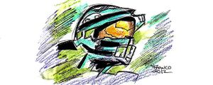 master chief by francobug