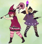Magic Witch Partners by kassie