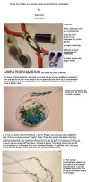 Tutorial: Wire-crocheting necklace by Xenaris