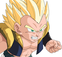 Gotenks SSJ by MrGekon