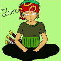 Zoro Strong World by Mugiwara-no-Lari