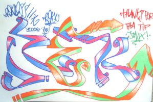 Black Book Entry: Old StyLE 3D by rEk-1