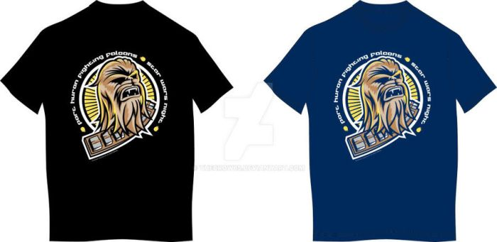 Fighting Falcons Star Wars T-shirt by theCrow65