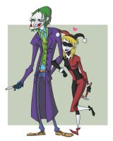 Joker and Harley Quinn by DOGiukas