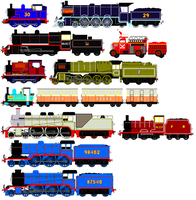 All 10 Thomas and Friends Animated Free sprites by JamesFan1991