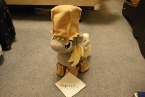 Derpy Hooves with Costume Plush! by Hapatastic