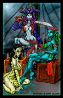 Cannibalistic Siren Pirates by LordSantiago