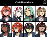 Variation Meme by bekkomi