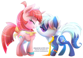 Sarina and StePandy by StePandy