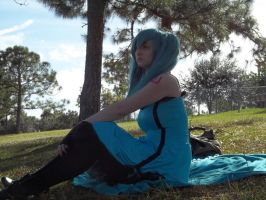 Vocaloid- looking beyond the horizon by CosplayQueendom