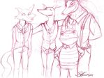 Jazz Animal Sketches by Space-Jacket