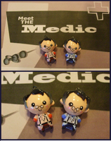 Chibi-Charms: TF2 Medic by MandyPandaa