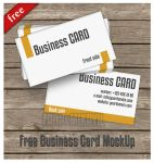 Free business card mockup by mikayilzade