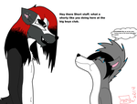 [Request] Alastor is bigger than you by Kyuubichowderfan