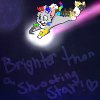 :EDIT:WE ARE BRIGHTER THAN A SHOOTING STAR by TechnoZombi