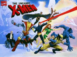 Uncanny X-Men by superheroartist