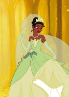 Disney Princess Tiana by Applefied