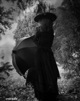The Witch Waits For The Little Ones To Step Out by Estruda