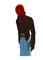 Red Hood Arkham City by JMP-Snowman