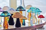 Glass Mushrooms by BFGL
