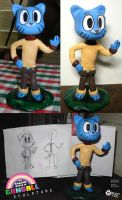 Gumball Sculpture by wolfjedisamuel