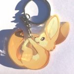 Keychain Fennec Clear Front by Mewitti