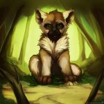 [02] Baby Hyena (process vid in descript) by Tato-Sama