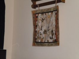 Halloween Wall Hanging by jeania85