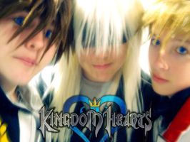 Kingdom Hearts Trio by Cosplay-101
