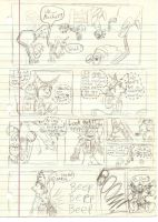 rachet and clank comic by Tatta-Kasame