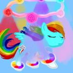 Super Rainbow Dash Transformation by FlitterDash