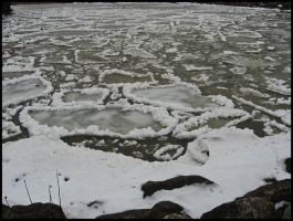 Ice Flow by StormPetral0509