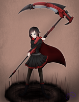Ruby Rose by PoisonicPen