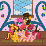 The Pie Family by MagicandMysteryGal