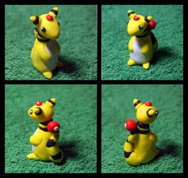 Fimo Ampharos by inu-chan-free
