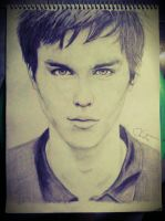 Nicholas Hoult by magicalhands1995
