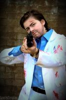 Left 4 Dead 2 - Nick Cosplay 01 by Luxris