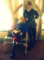 APH: France and England by kelala000