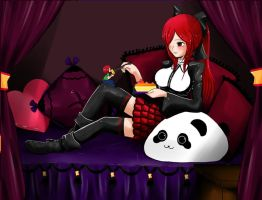 Commission: Erza Scarlet by sigroneta