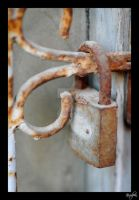 Padlock no. 6 by vvvulpea