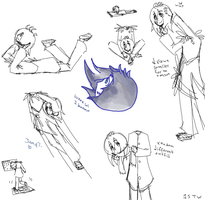 Odd sketches XD by 1STW