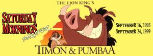 SATURDAY MORNINGS FOREVER: TIMON AND PUMBAA by WOLVERINE25TH