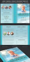 Large Funeral Service Program Template by Godserv