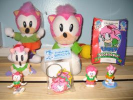 My Old Style Amy Collection by sonicrules100